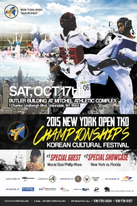 2015 NY Open YKD Championships and Korean Cultural Festival