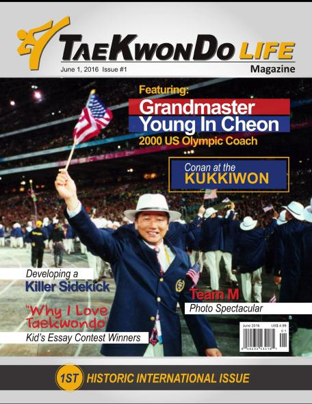 Copy of TKD Life June 2016-YIC - Cover